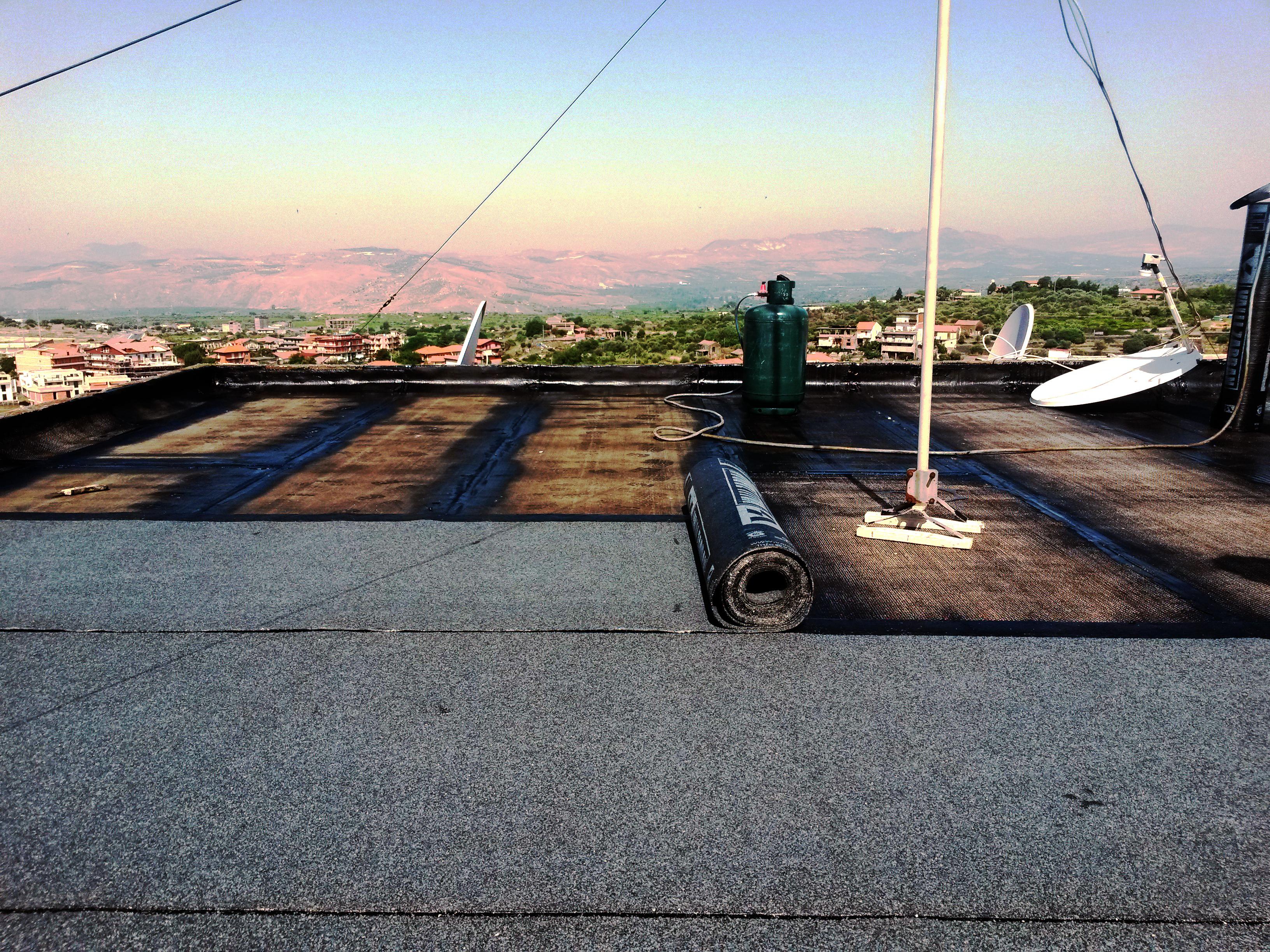 Ripristino e impermeabilizzazione di terrazzo condominiale a Paternò (CT)