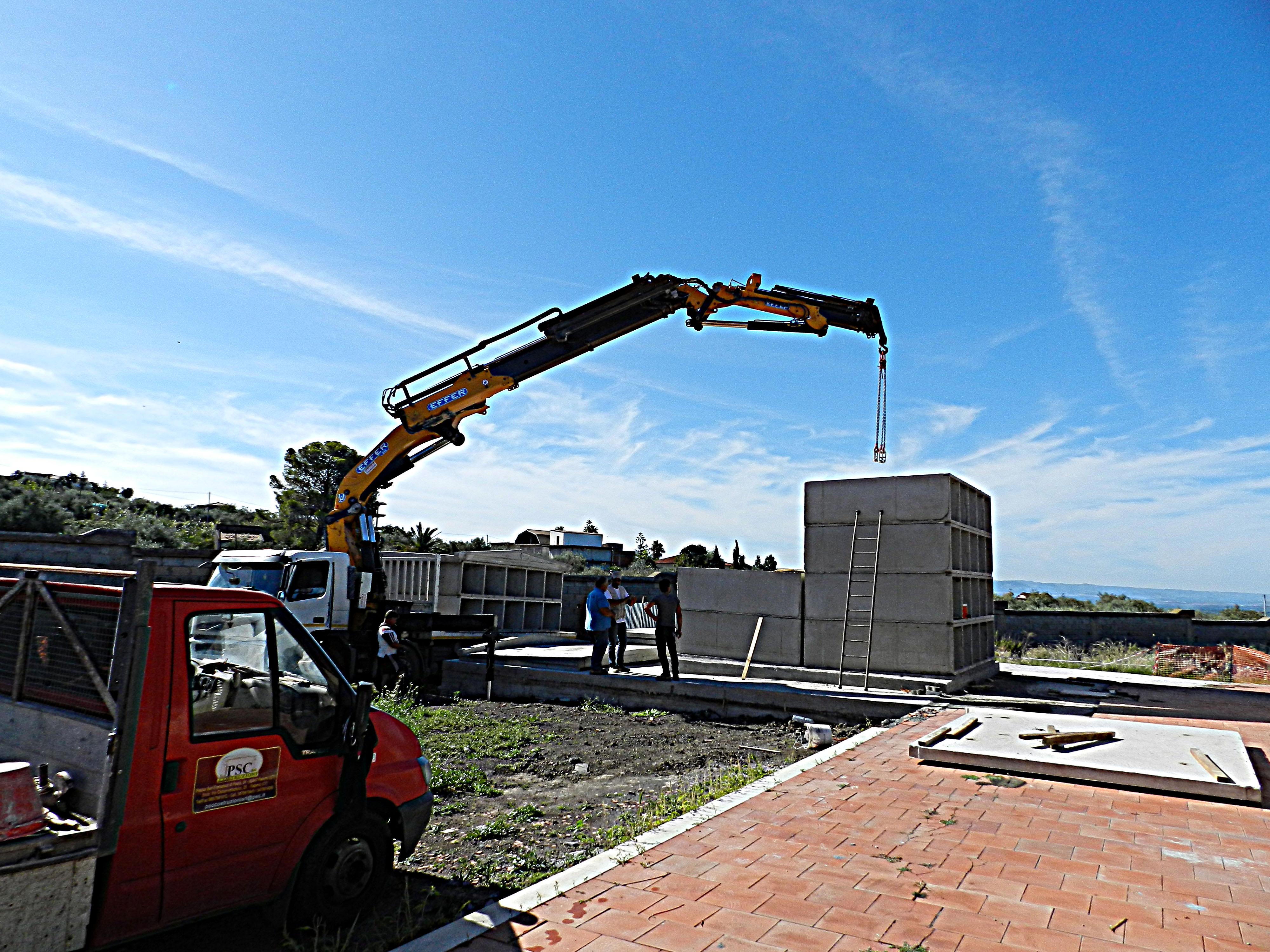 Realizzazione di n. 40 loculi presso il cimitero di Paternò (CT)
